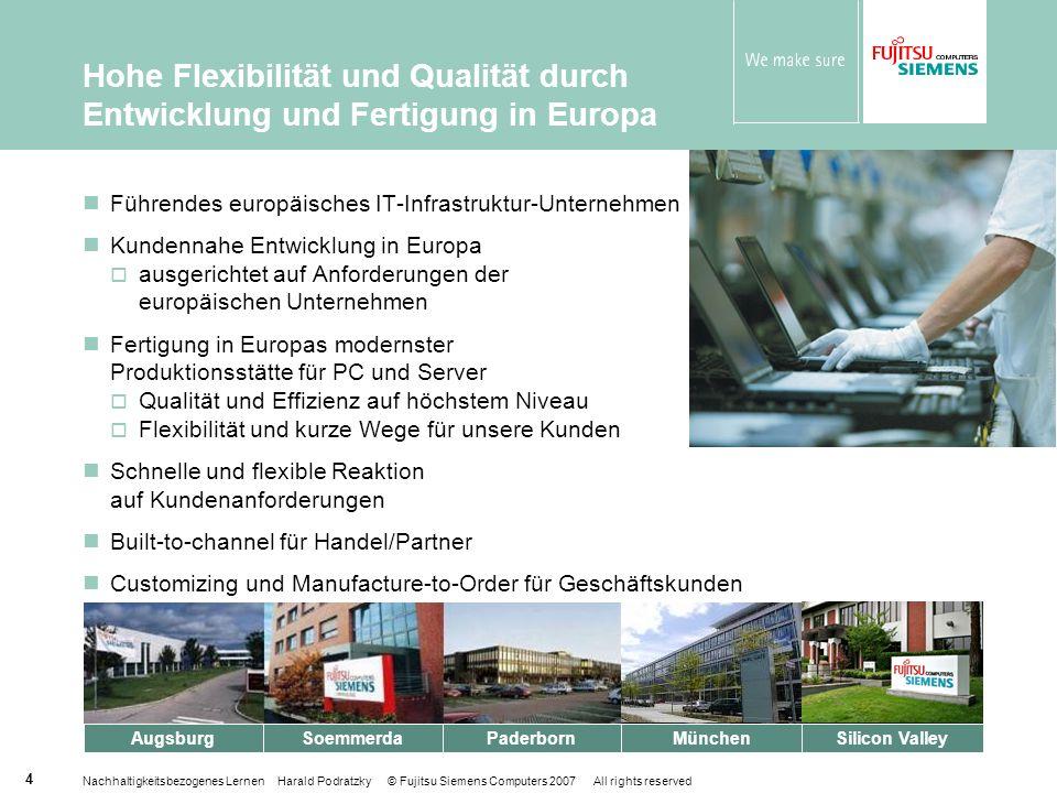 Hohe Flexibilität und Qualität durch Entwicklung und Fertigung in Europa