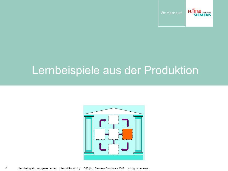 Lernbeispiele aus der Produktion