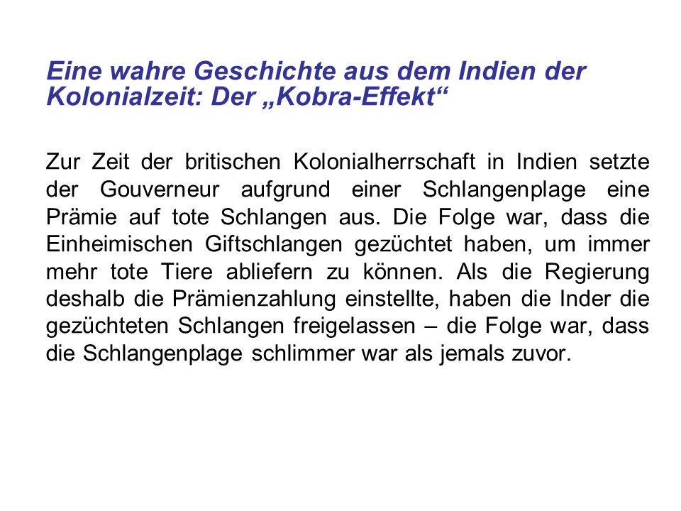 """Eine wahre Geschichte aus dem Indien der Kolonialzeit: Der """"Kobra-Effekt"""
