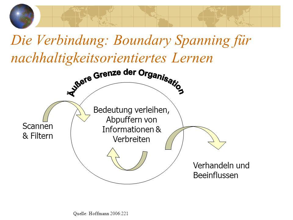 Äußere Grenze der Organisation