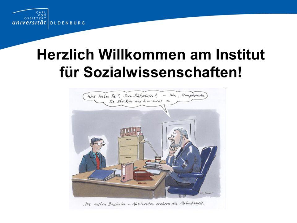 Herzlich Willkommen am Institut für Sozialwissenschaften!