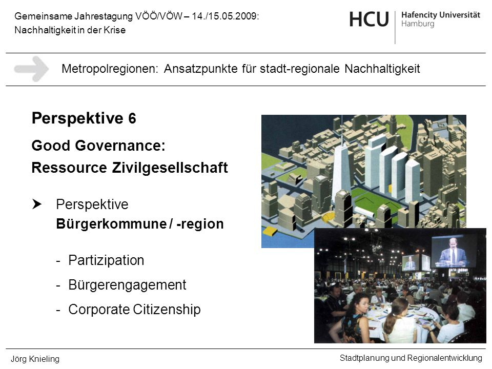 Good Governance: Ressource Zivilgesellschaft