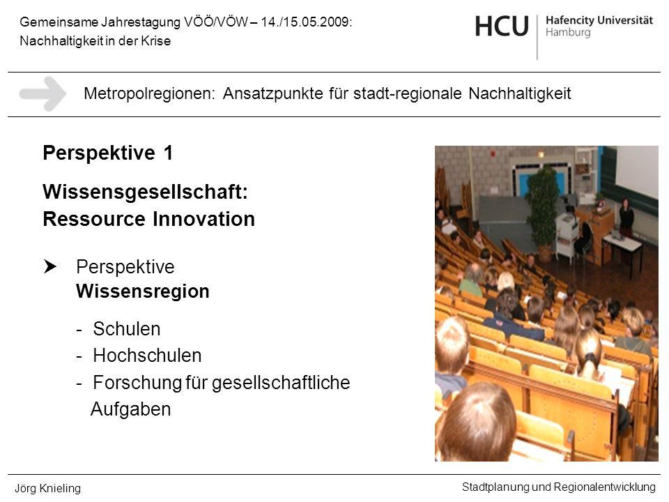 Wissensgesellschaft: Ressource Innovation