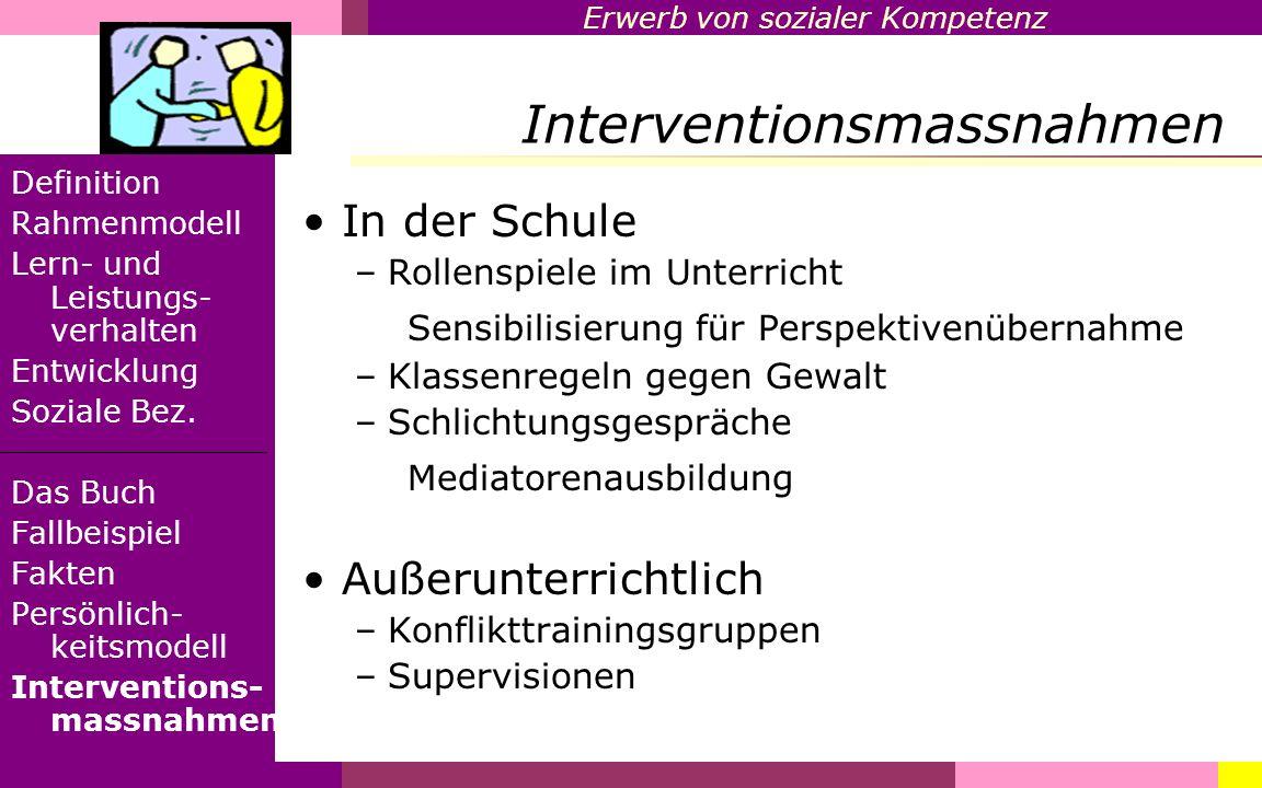 Interventionsmassnahmen