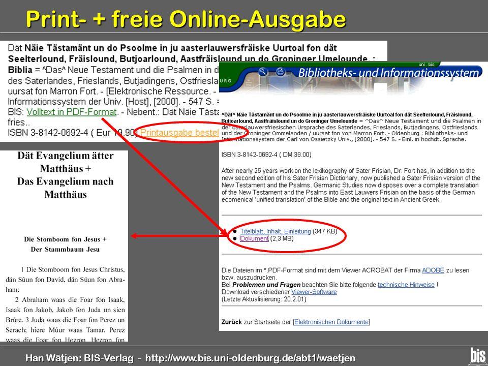 Print- + freie Online-Ausgabe