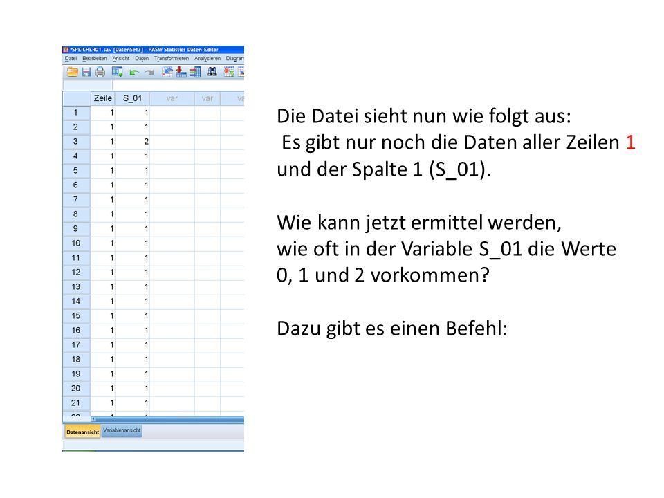 Die Datei sieht nun wie folgt aus: