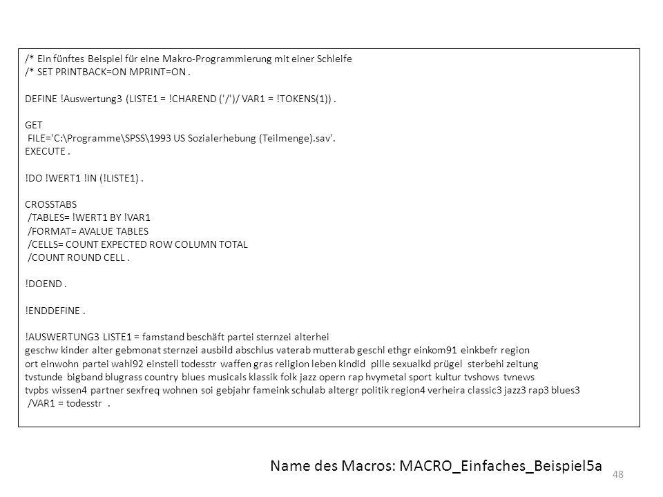 Name des Macros: MACRO_Einfaches_Beispiel5a