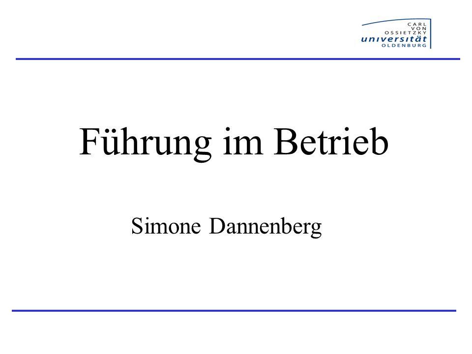 Führung im Betrieb Simone Dannenberg