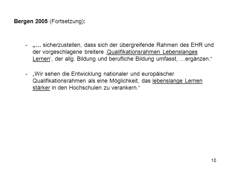 Bergen 2005 (Fortsetzung):