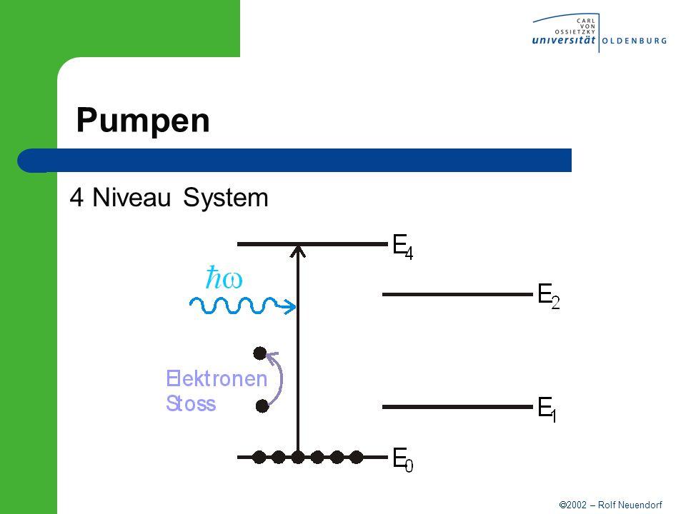 Pumpen 4 Niveau System