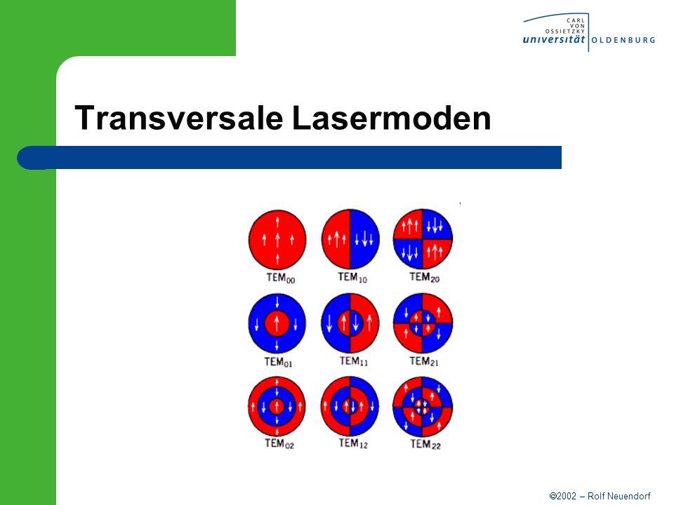 Transversale Lasermoden