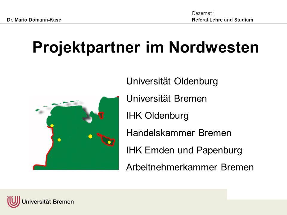 Projektpartner im Nordwesten