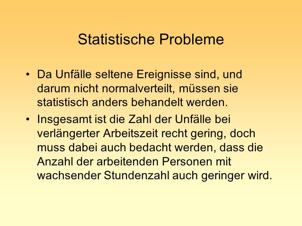 Statistische Probleme