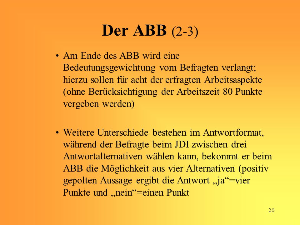 Der ABB (2-3)