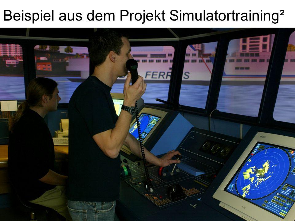 Beispiel aus dem Projekt Simulatortraining²
