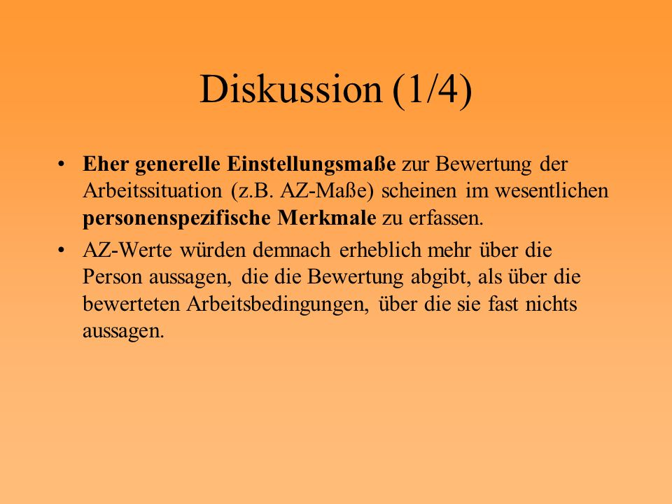Diskussion (1/4)
