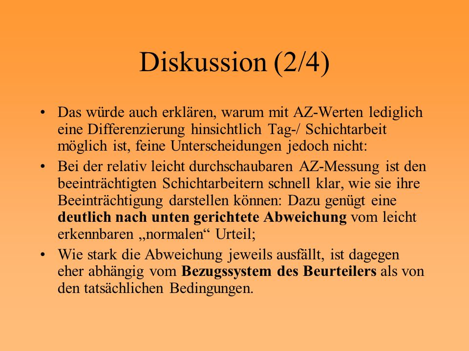 Diskussion (2/4)