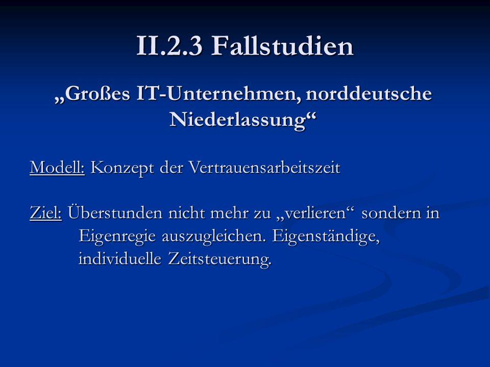 """""""Großes IT-Unternehmen, norddeutsche Niederlassung"""