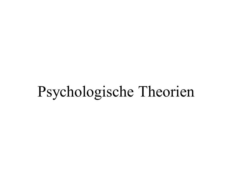 Psychologische Theorien