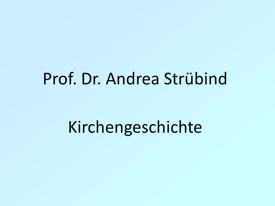 Prof. Dr. Andrea Strübind