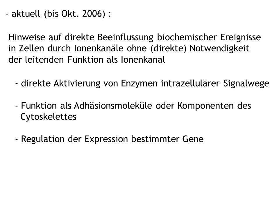 - aktuell (bis Okt. 2006) :