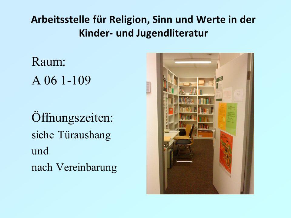 Arbeitsstelle für Religion, Sinn und Werte in der Kinder- und Jugendliteratur