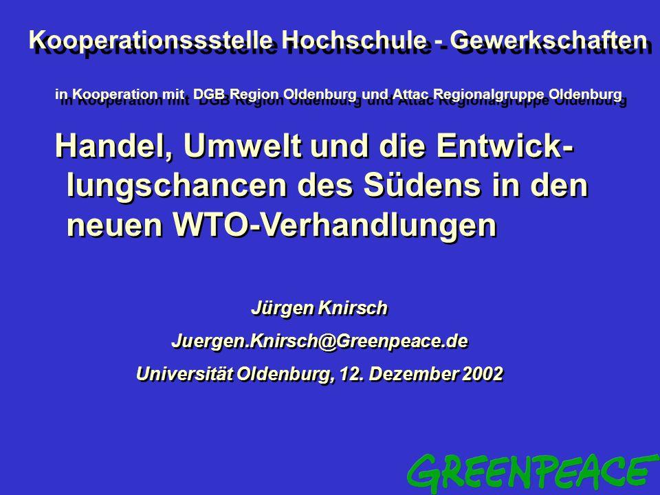 Universität Oldenburg, 12. Dezember 2002