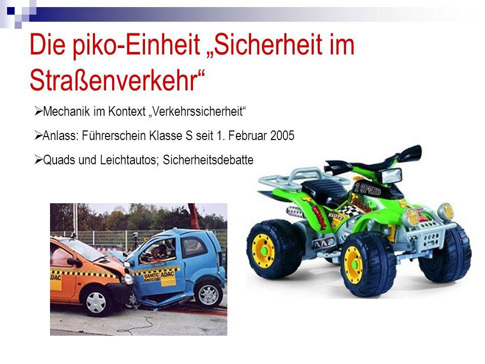 """Die piko-Einheit """"Sicherheit im Straßenverkehr"""