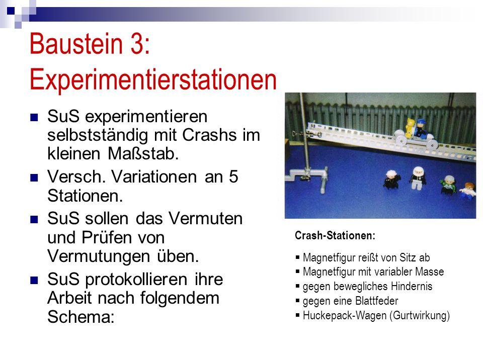 Baustein 3: Experimentierstationen