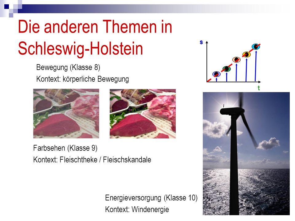 Die anderen Themen in Schleswig-Holstein