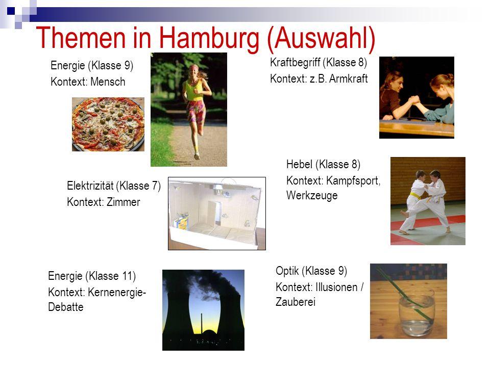 Themen in Hamburg (Auswahl)