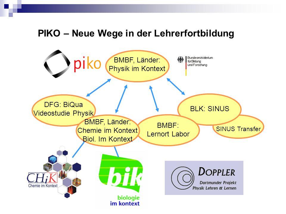 PIKO – Neue Wege in der Lehrerfortbildung