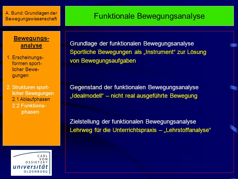 Funktionale Bewegungsanalyse