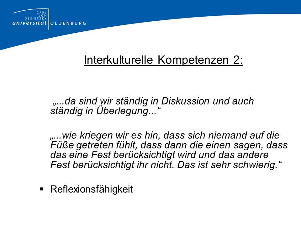 Interkulturelle Kompetenzen 2: