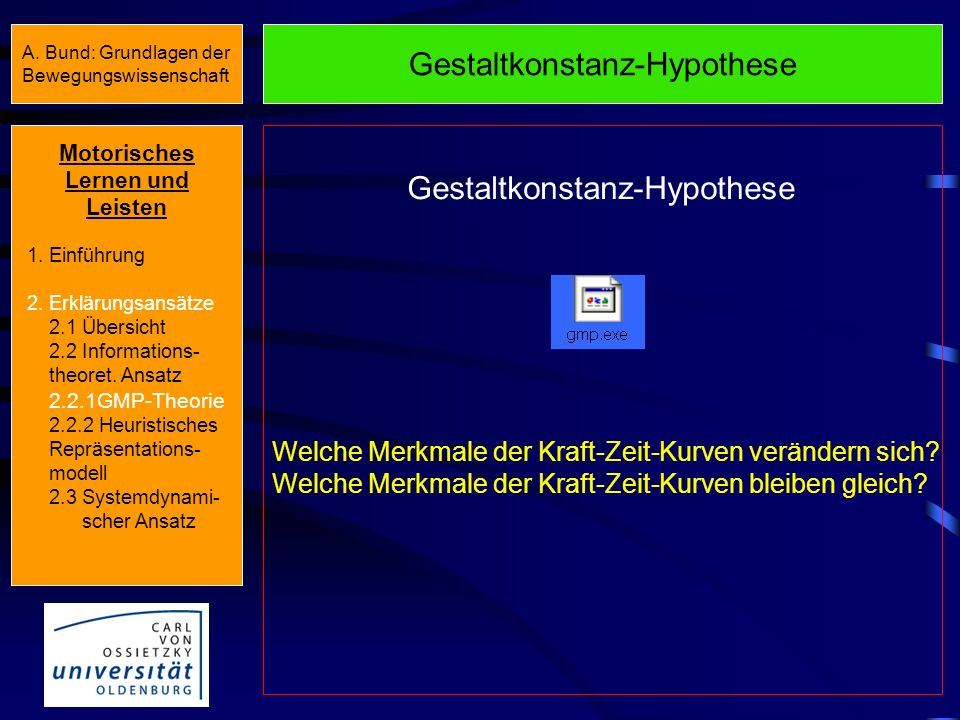 Gestaltkonstanz-Hypothese