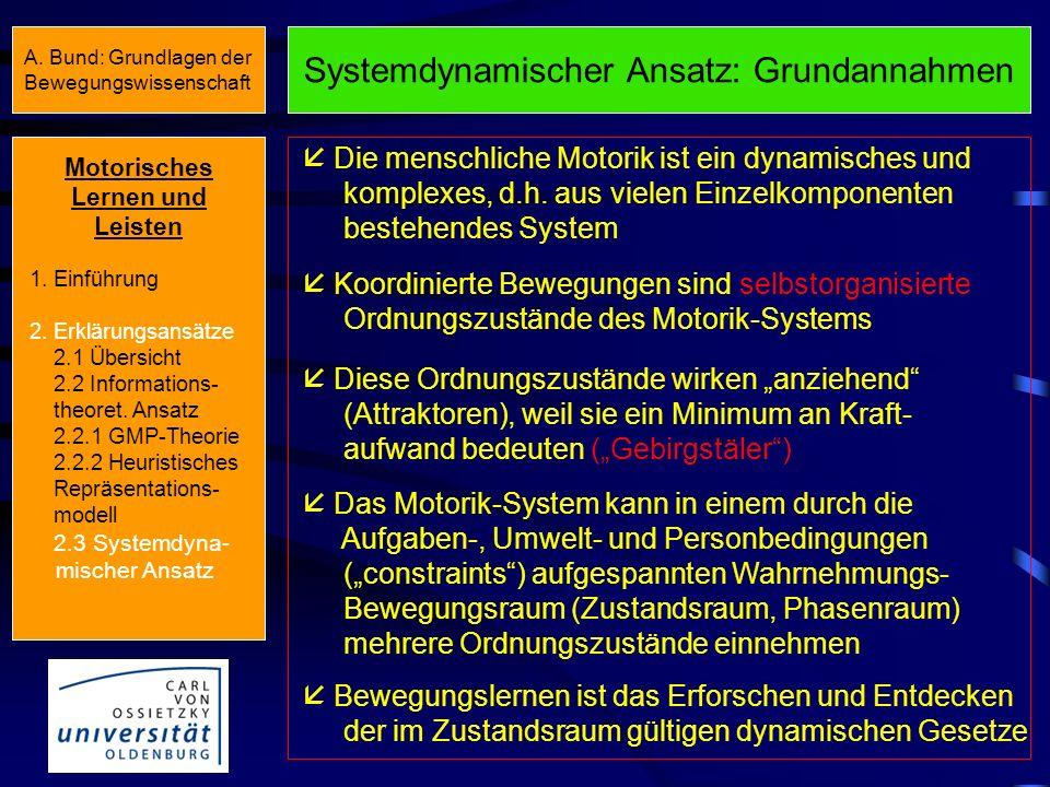 Systemdynamischer Ansatz: Grundannahmen