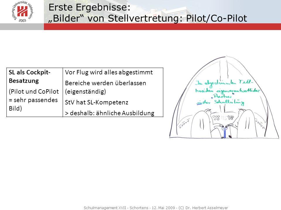 """Erste Ergebnisse: """"Bilder von Stellvertretung: Pilot/Co-Pilot"""