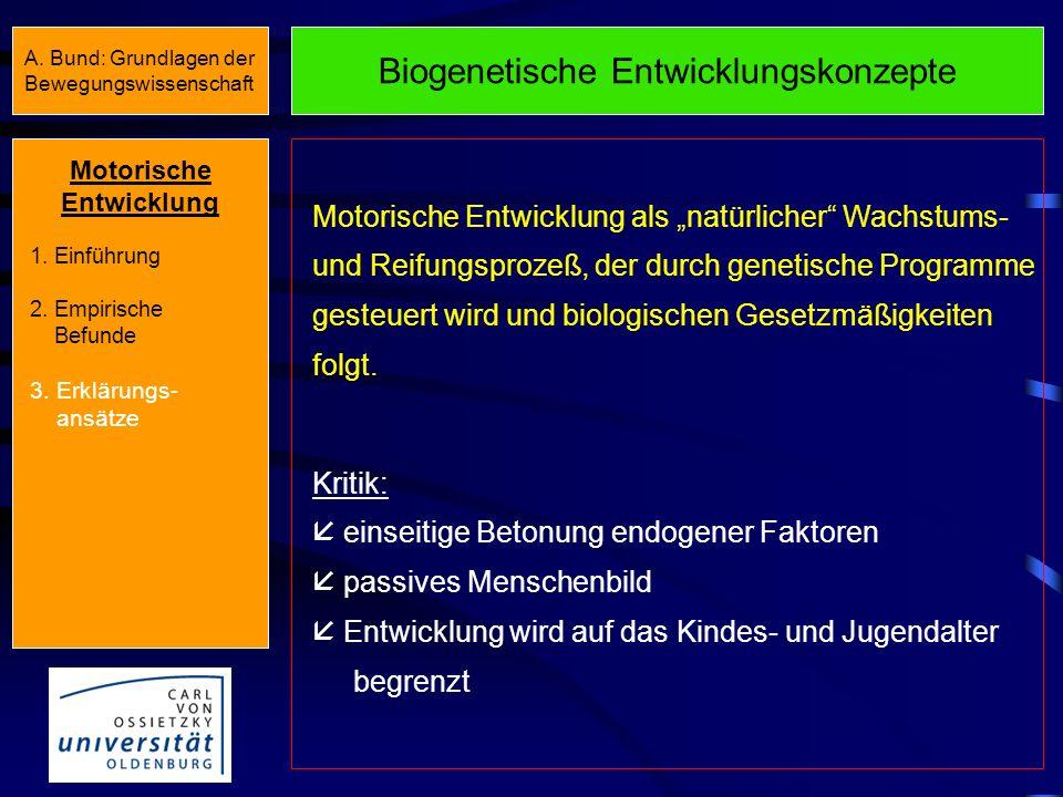 Biogenetische Entwicklungskonzepte