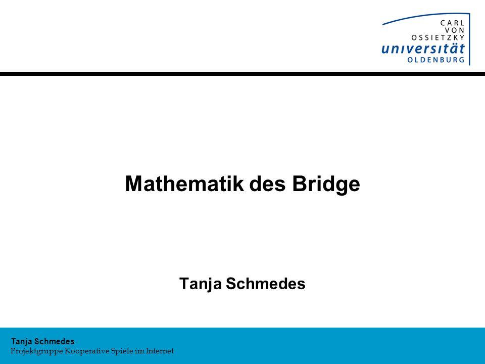 Mathematik des Bridge Tanja Schmedes