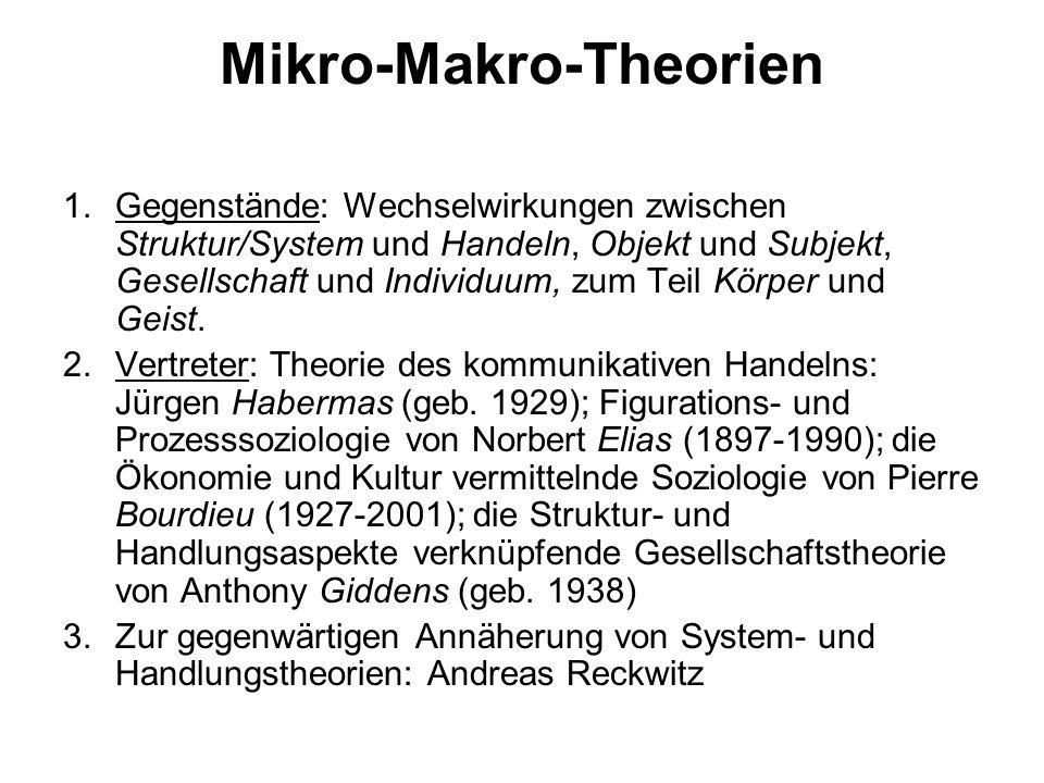 Mikro-Makro-Theorien