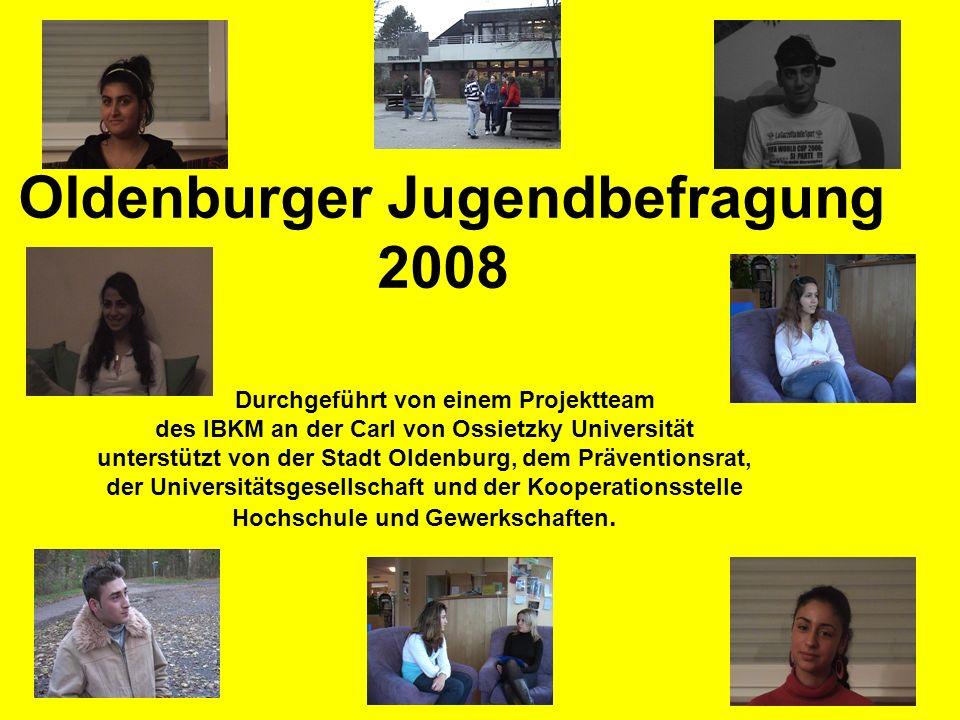 Oldenburger Jugendbefragung 2008