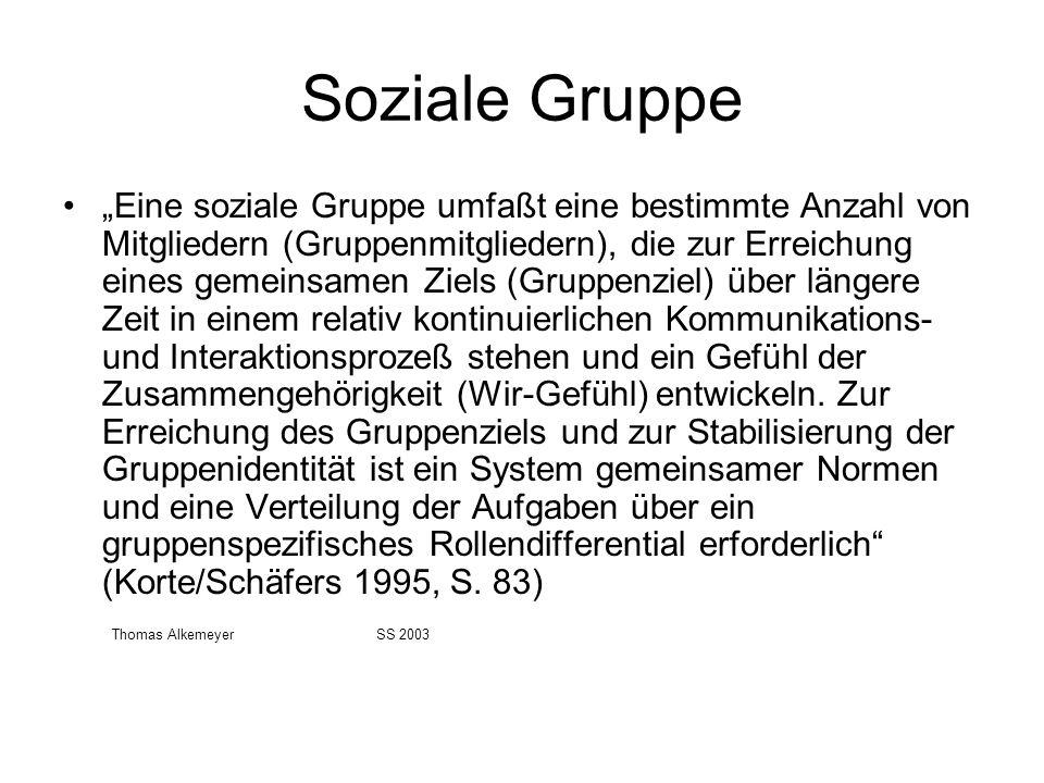 Soziale Gruppe