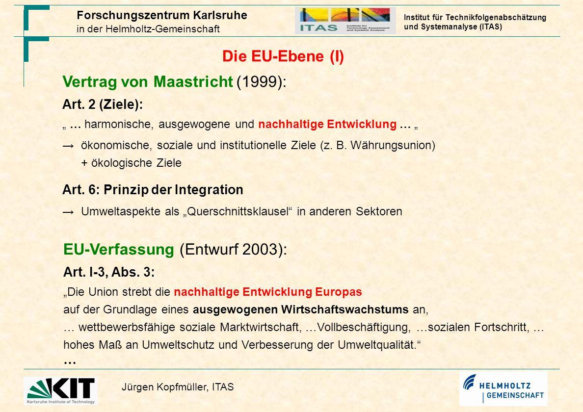 Vertrag von Maastricht (1999):