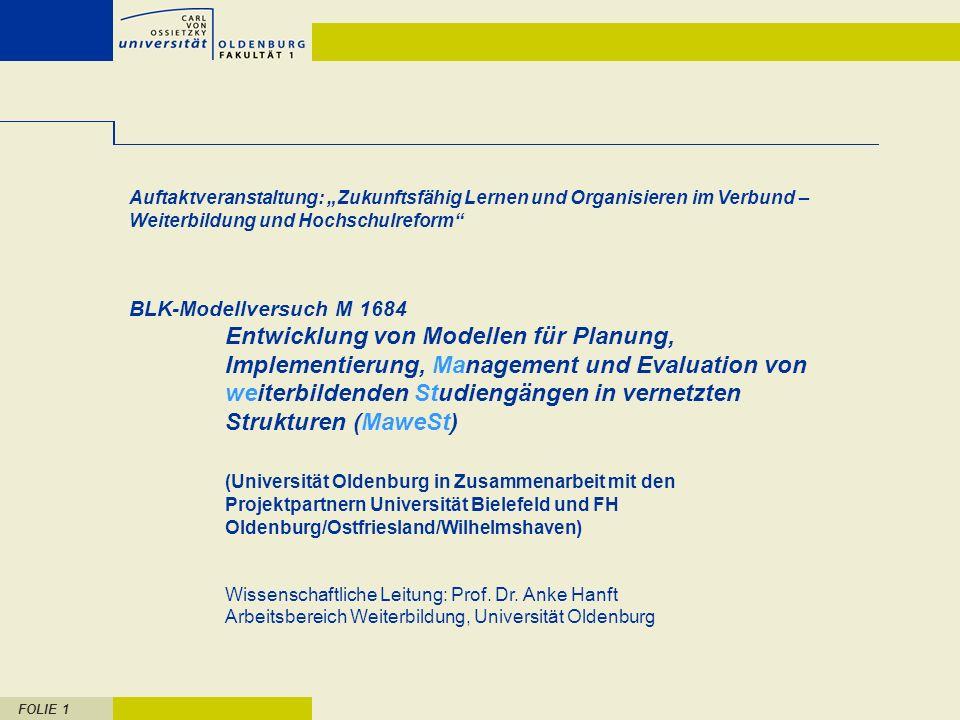 """Auftaktveranstaltung: """"Zukunftsfähig Lernen und Organisieren im Verbund – Weiterbildung und Hochschulreform"""