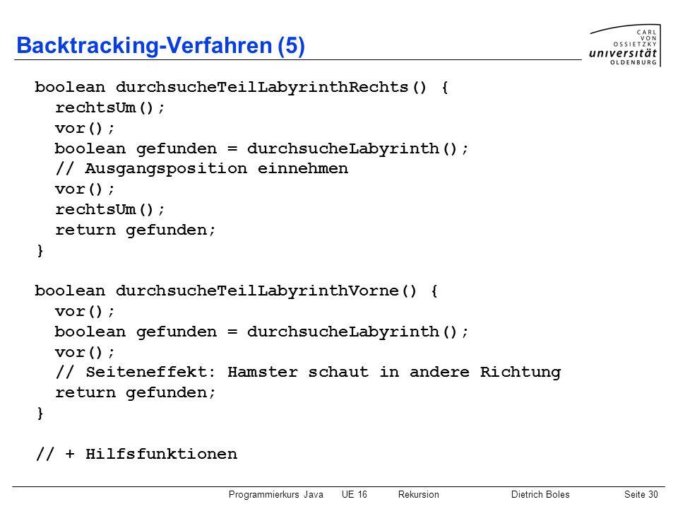 Backtracking-Verfahren (5)
