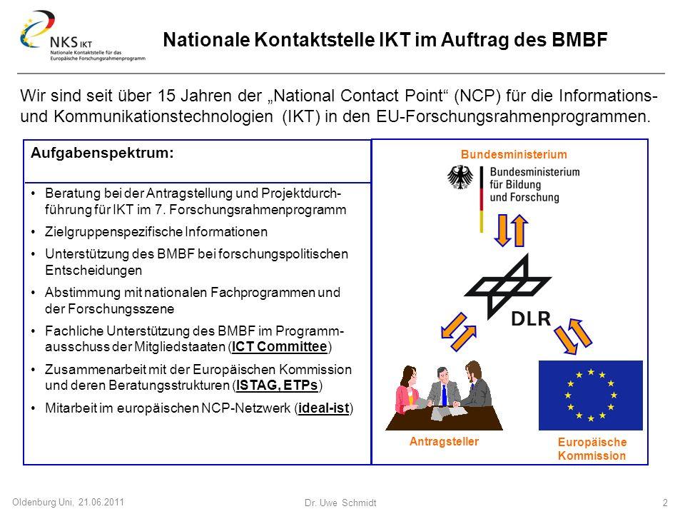 Nationale Kontaktstelle IKT im Auftrag des BMBF