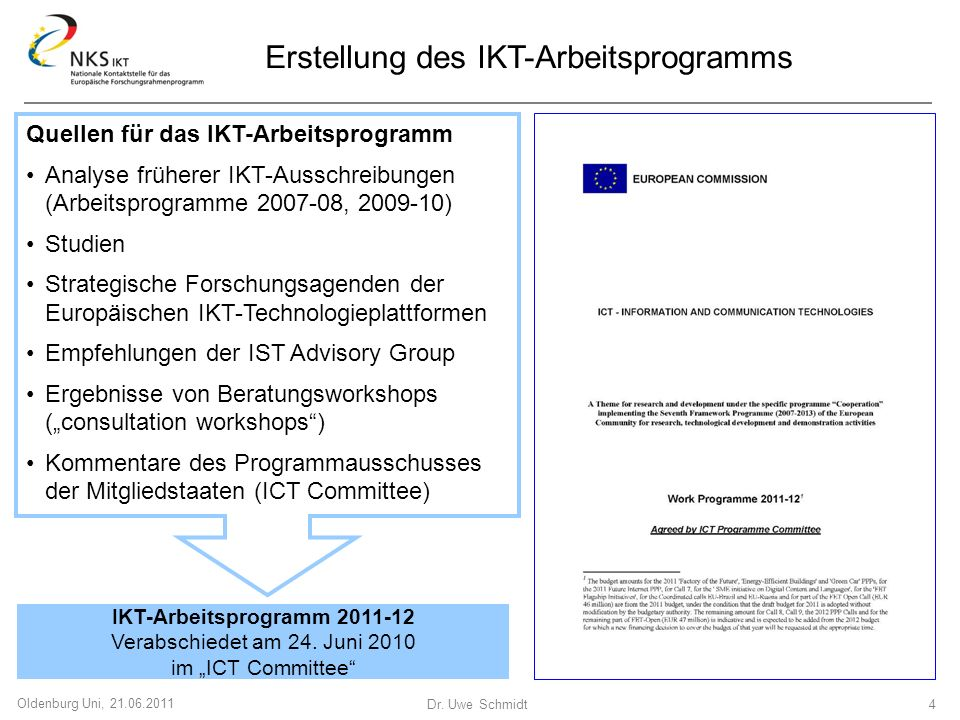IKT-Arbeitsprogramm 2011-12