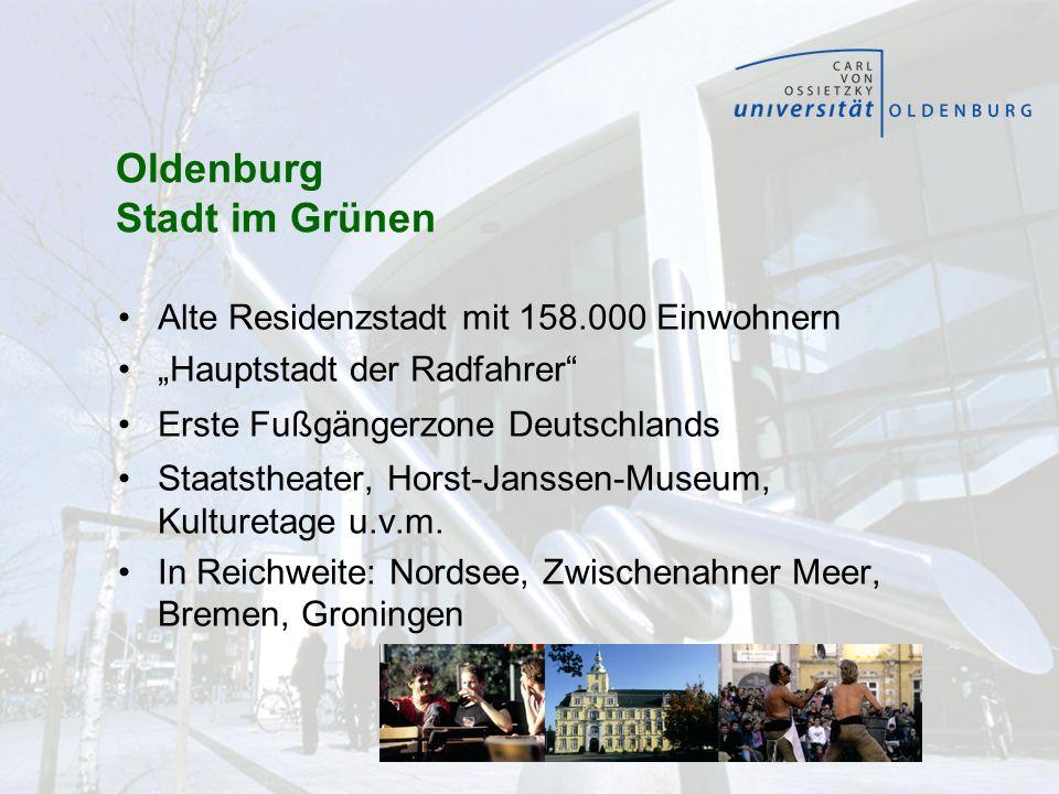 Oldenburg Stadt im Grünen