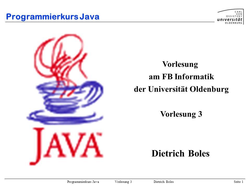 der Universität Oldenburg