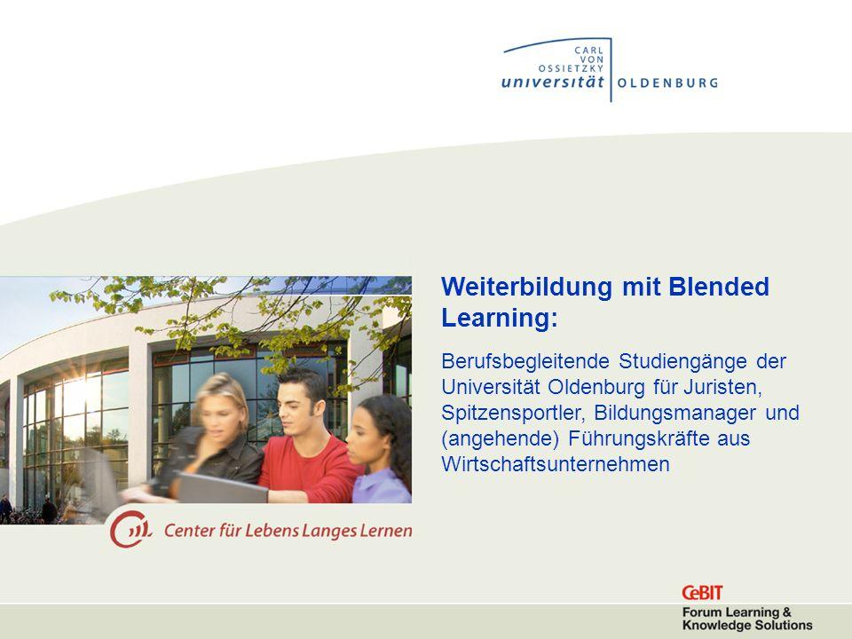 Weiterbildung mit Blended Learning: